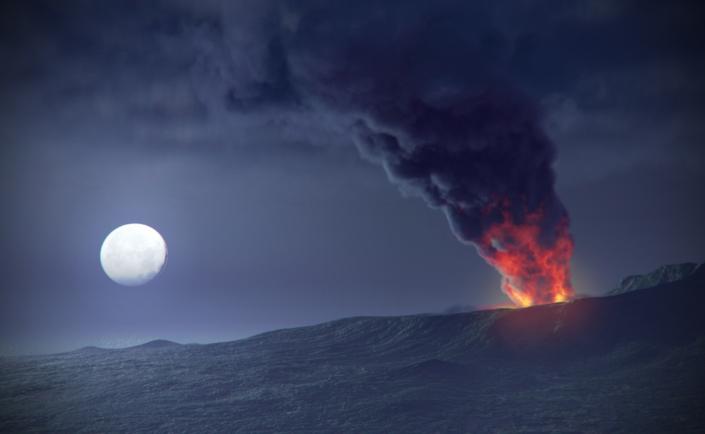 L'eruzione del Vesuvio